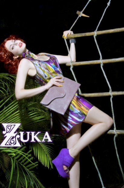 Zuka Shoes photoshoot. Makeup by Evy Maquillage